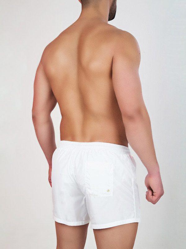 9d63085a769 Med Men's Swim Shorts Vin In White With Stripes