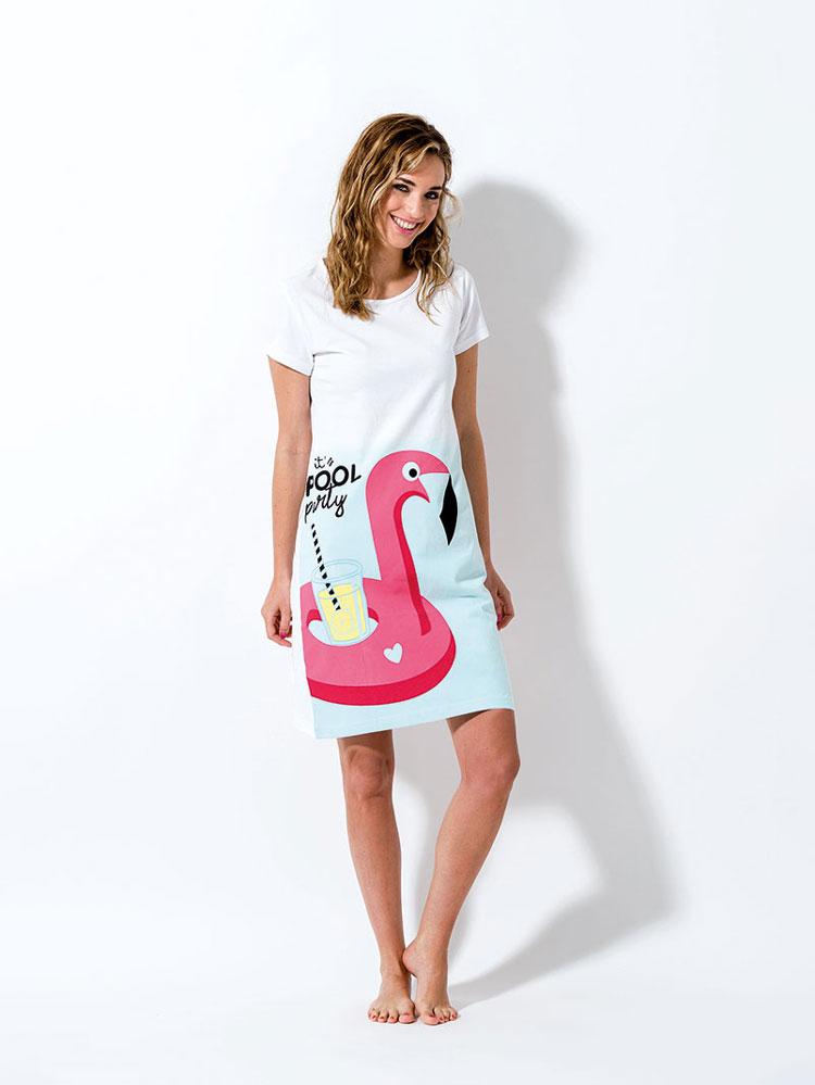 γυναικείο νυχτικό flamingo Melissa Brown