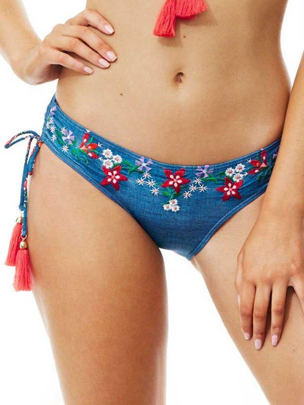 63d9c23e147 Piha Γυναικείο Μαγιό Μπικίνι Σλιπ Adjustable Side Pant | elena.