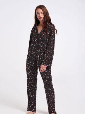 χειμερινή γυναικεία πυτζάμα billys fashion