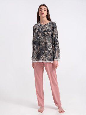 χειμερινή γυναικεία πυτζάμα billy's fashion