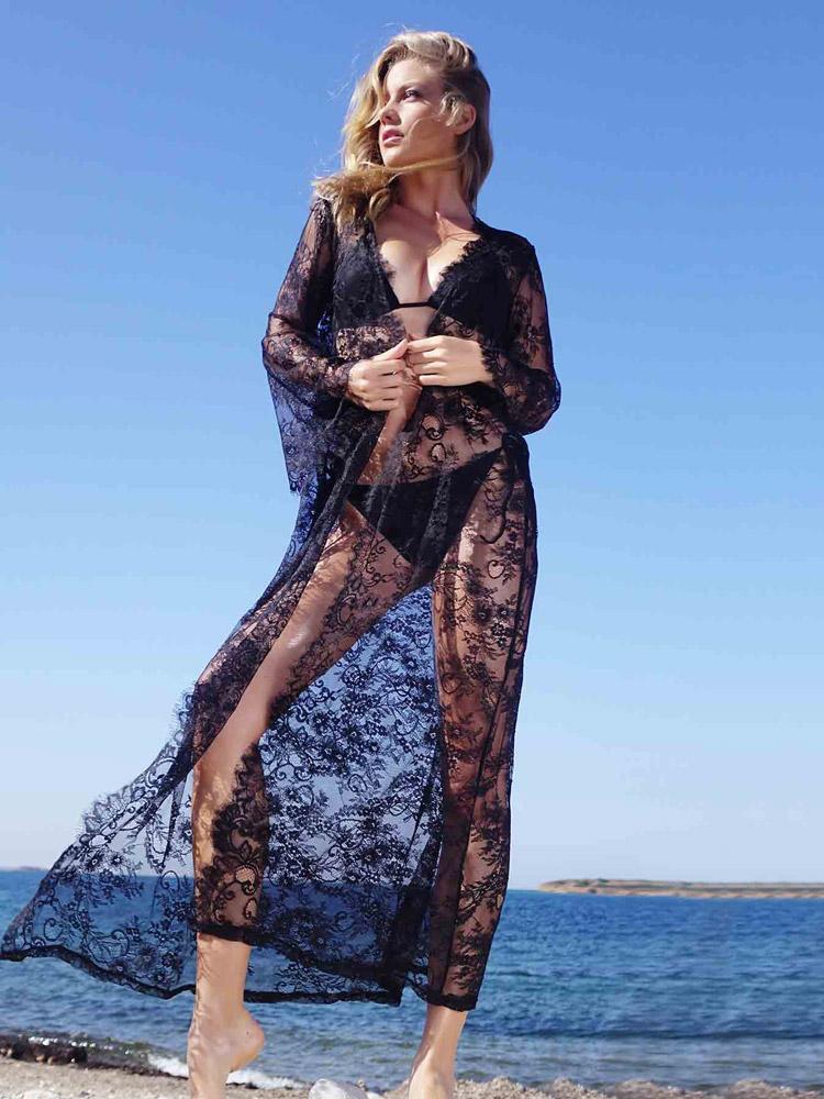 φορεμα θαλασσης μακρυ